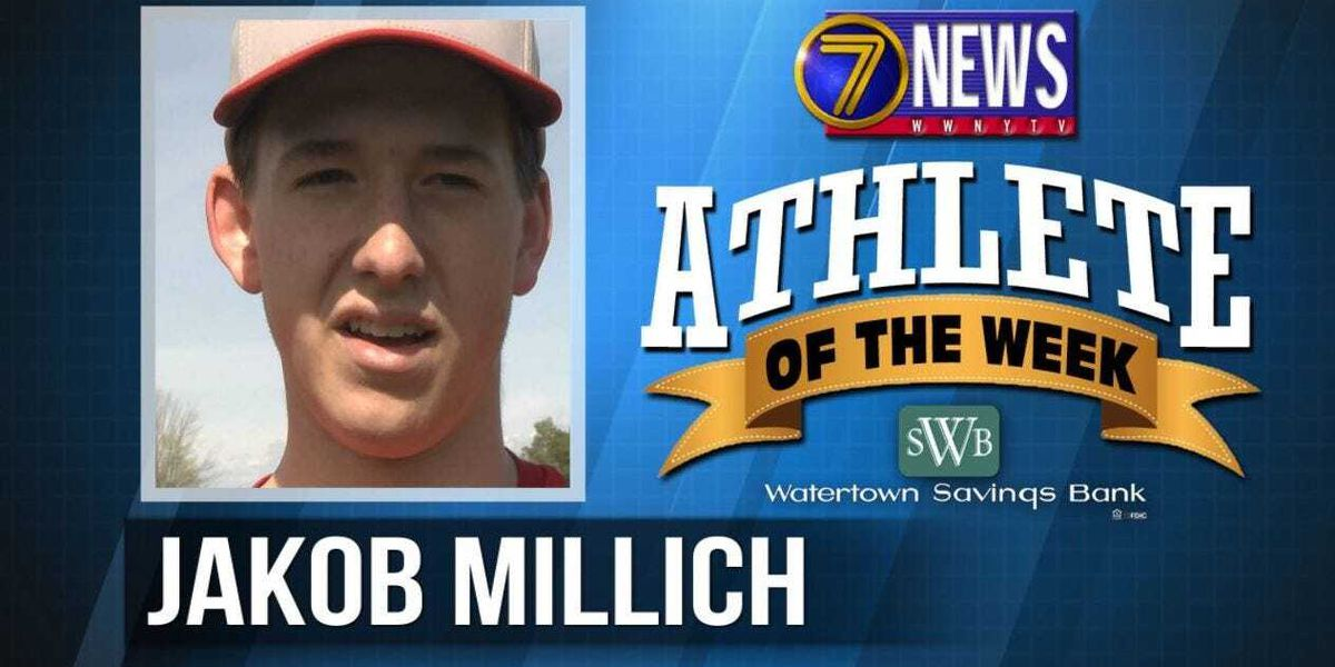 Athlete of the Week: Jakob Millich