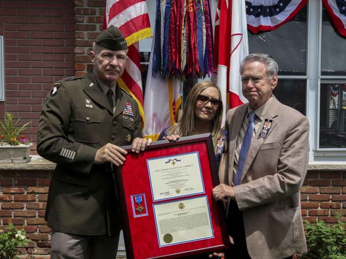 Fallen Fort Drum soldier receives Distinguished Service Cross