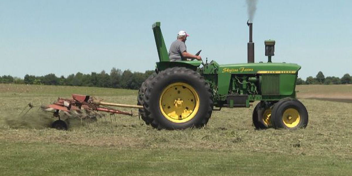 Farmers pleased with this year's weather