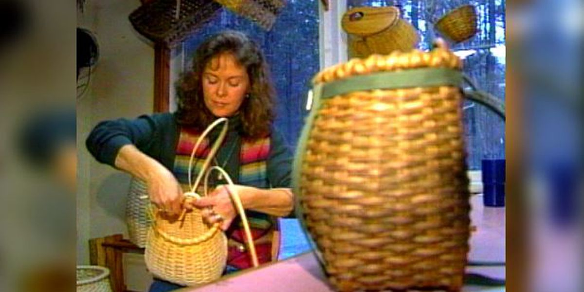 Blast from the Past: 1997 basket weaver