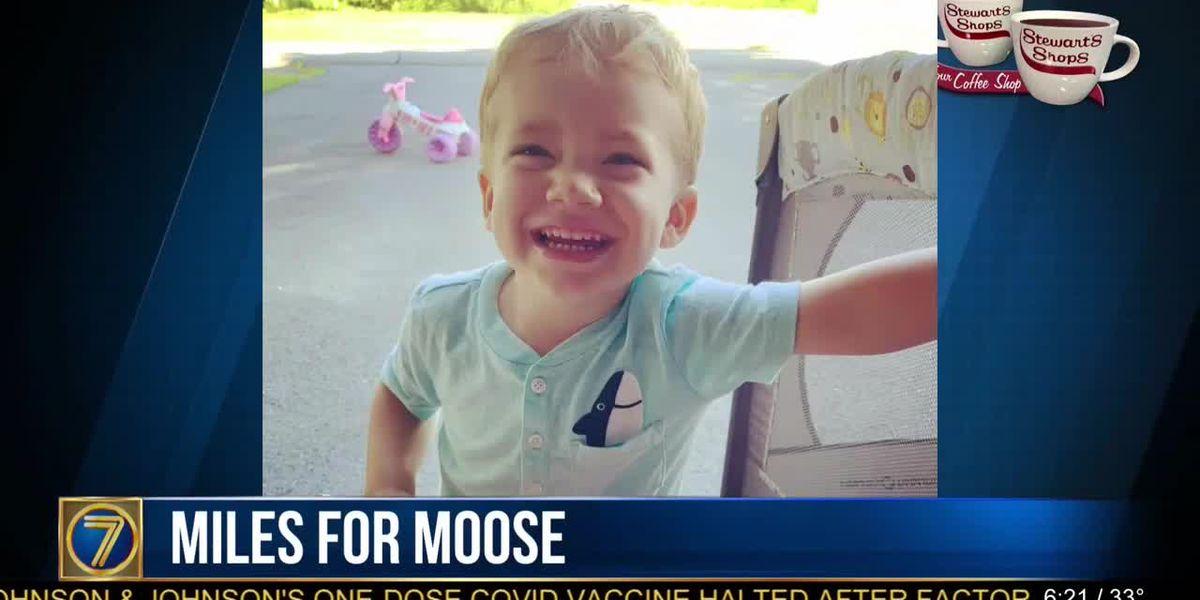 'Miles for Moose' to raise money to combat rare disease