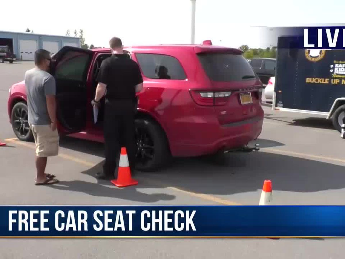 Troopers offer car seat check