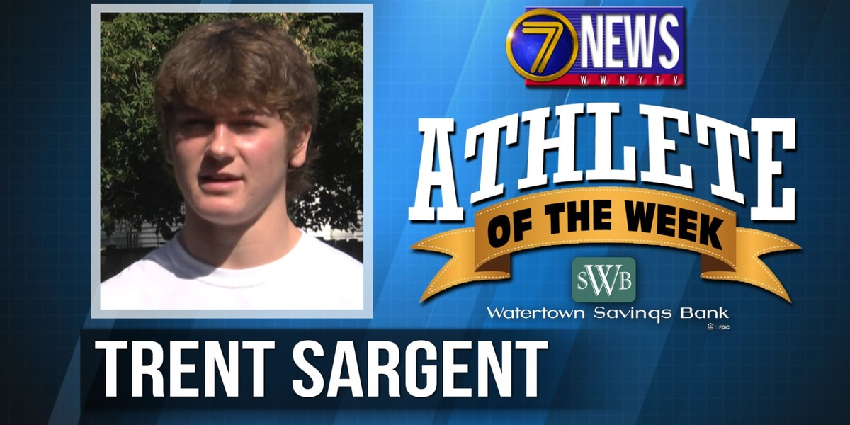 Athlete of the Week: Trent Sargent