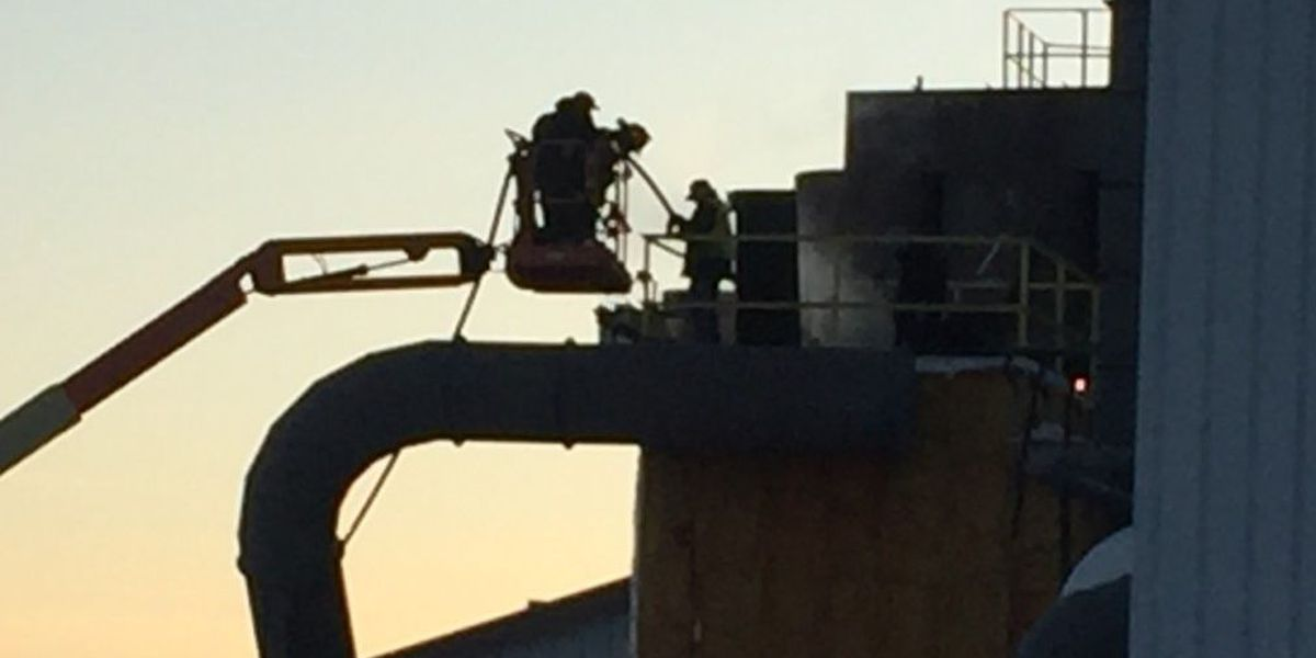 Fire at Curran Renewable Energy injures 2 workers, shuts down production facility
