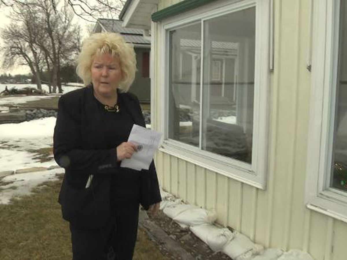 Woman looks to protect lakefront home by raising it 4 feet