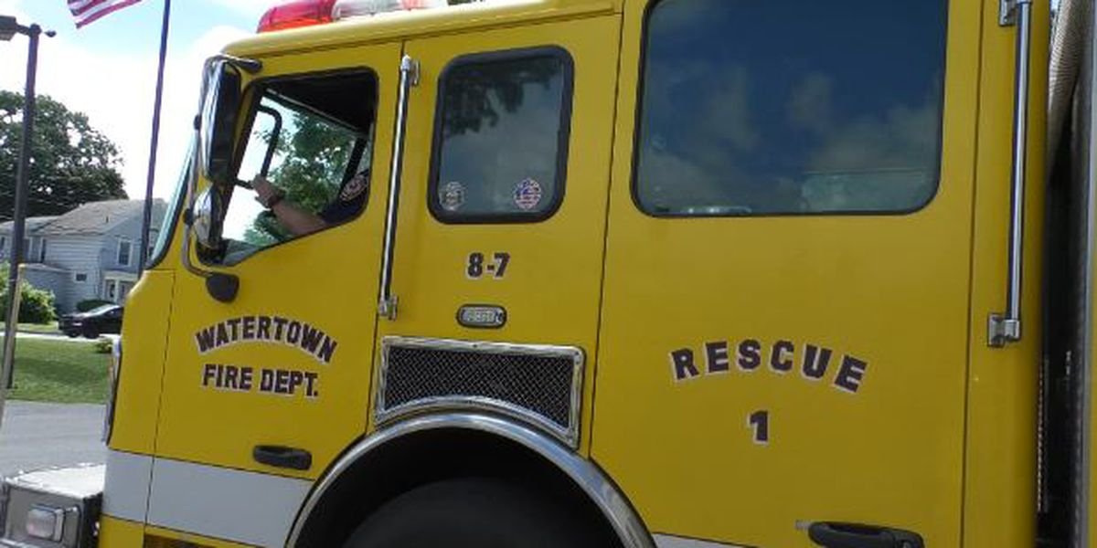 Watertown's firefighters union at odds with mayor over taking rescue truck off the road