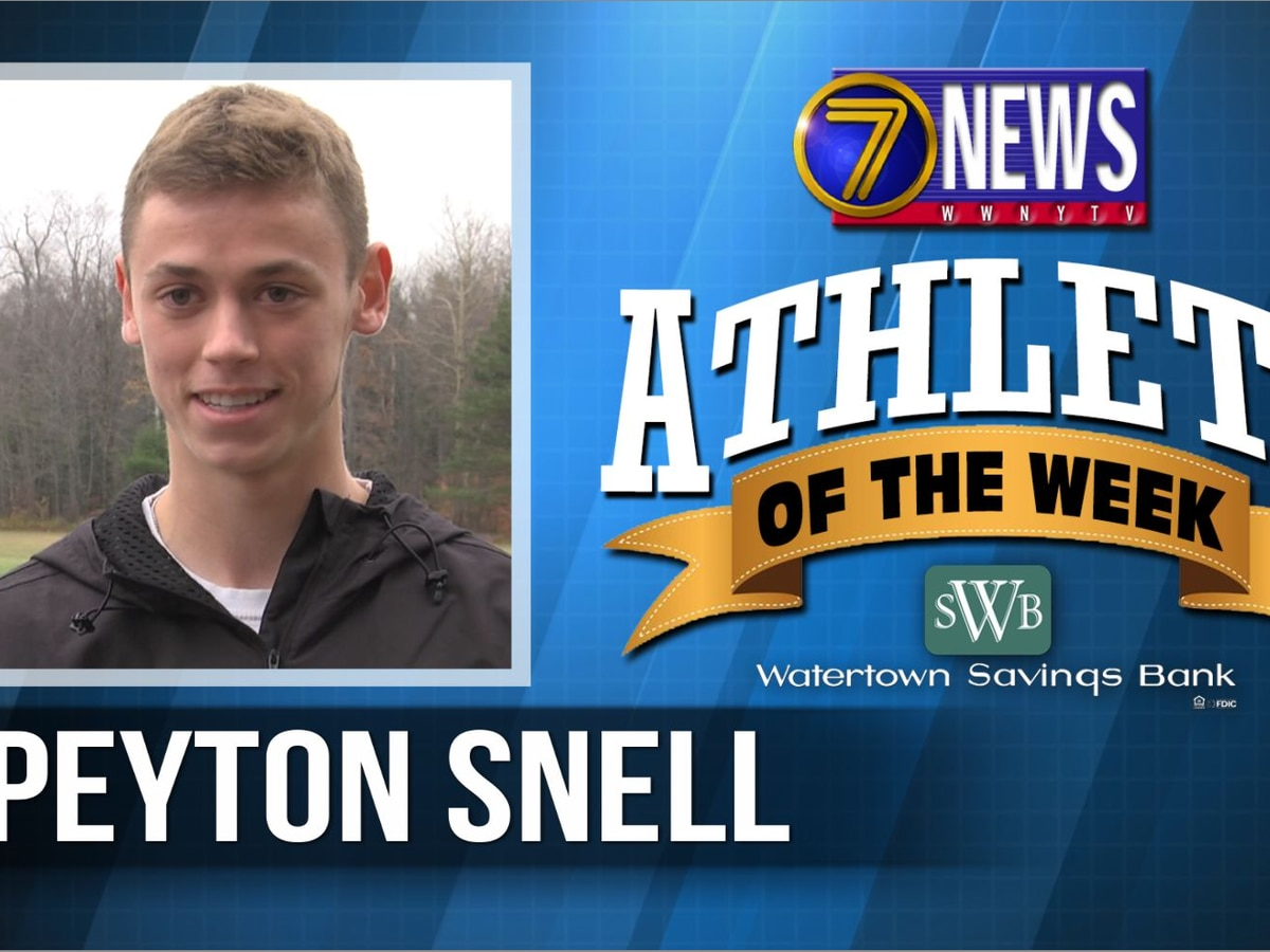 Athlete of the Week: Peyton Snell