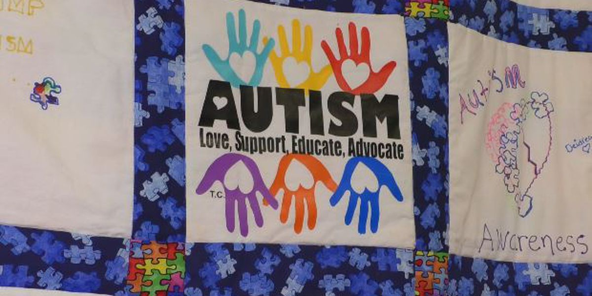 Quilt increases autism awareness