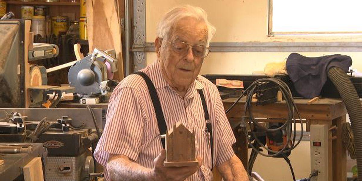 World War II veteran celebrates 103rd birthday
