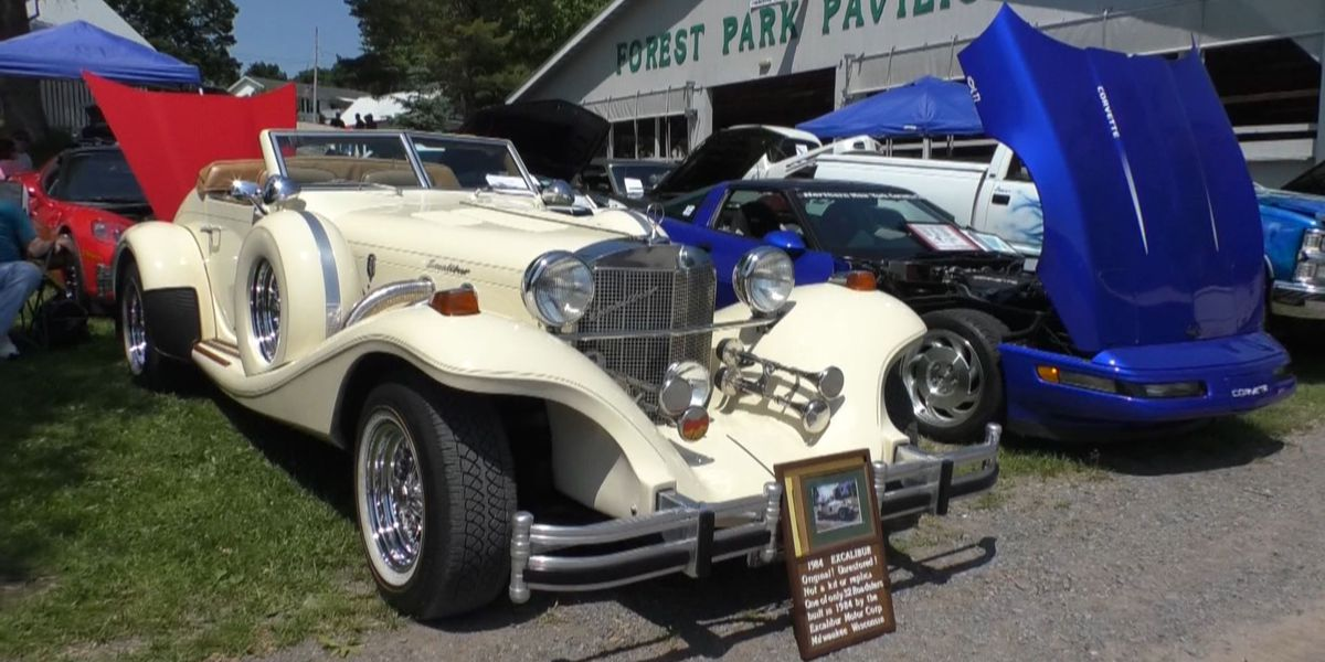 Classic cars on display at Lewis County Fairgrounds