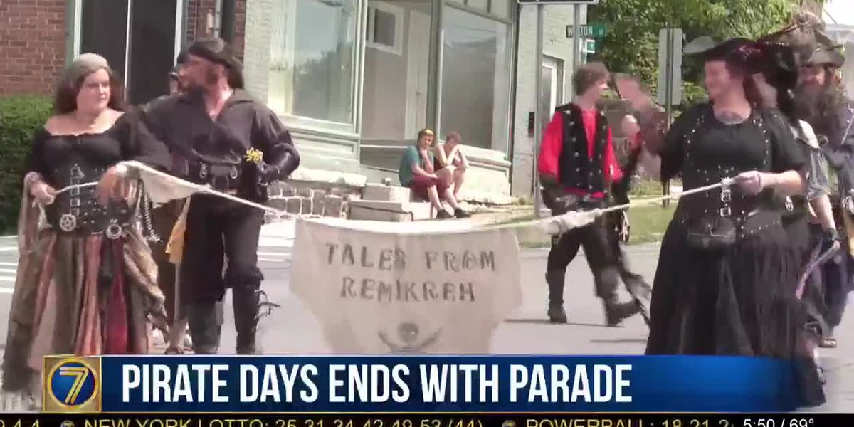 Bill Johnston's Days end with pirate parade