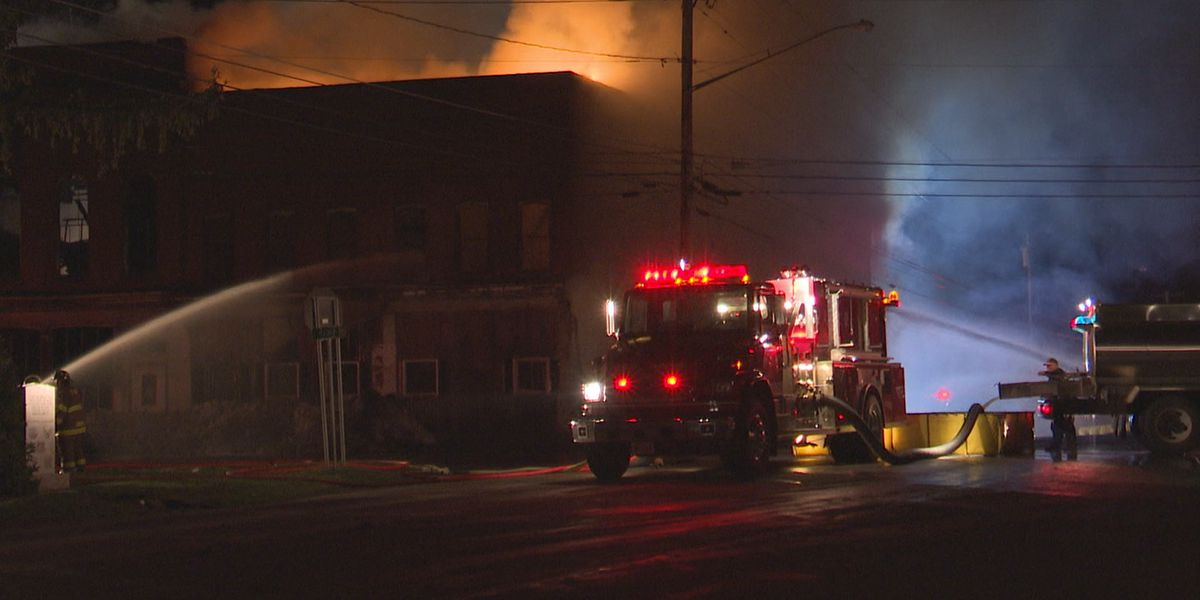 Overnight fire in Turin deemed suspicious, officials say