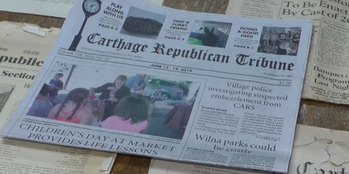 After 159 years, historian looks back on Carthage Republican Tribune