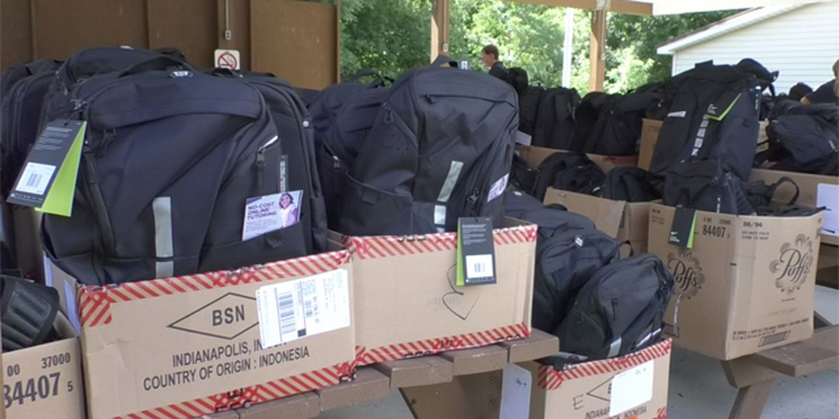 Operation Homefront helps military families with schools supplies