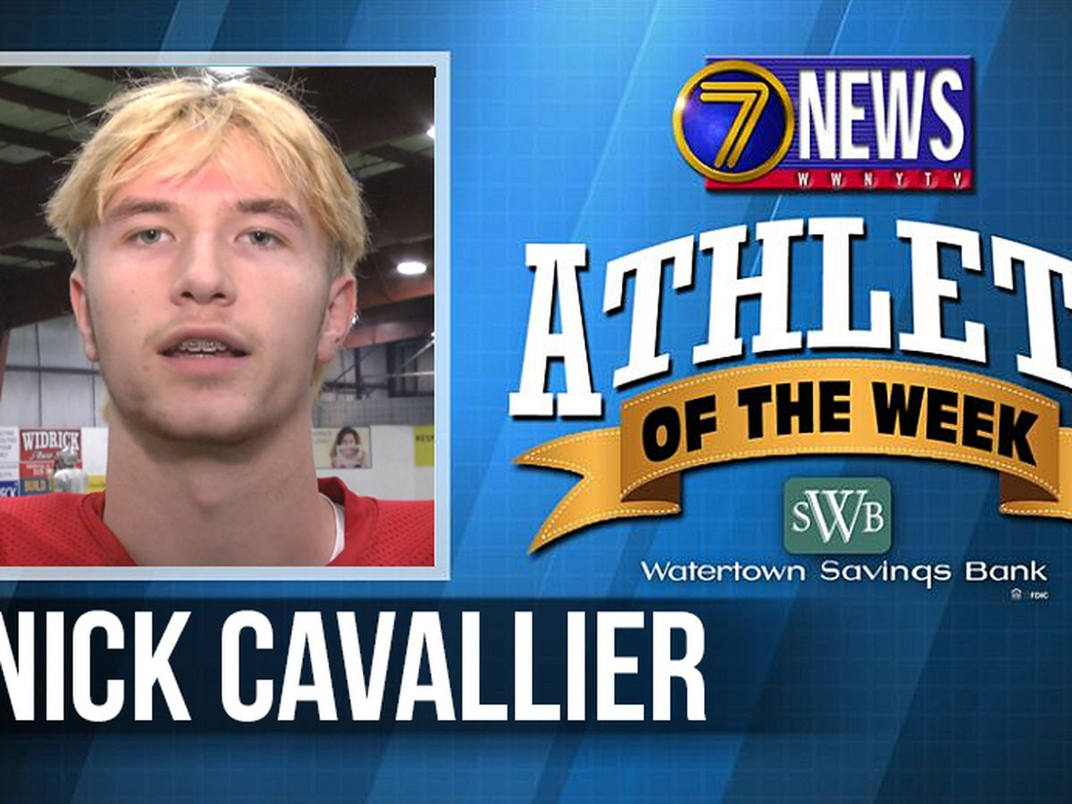 Athlete of the Week: Nick Cavallier