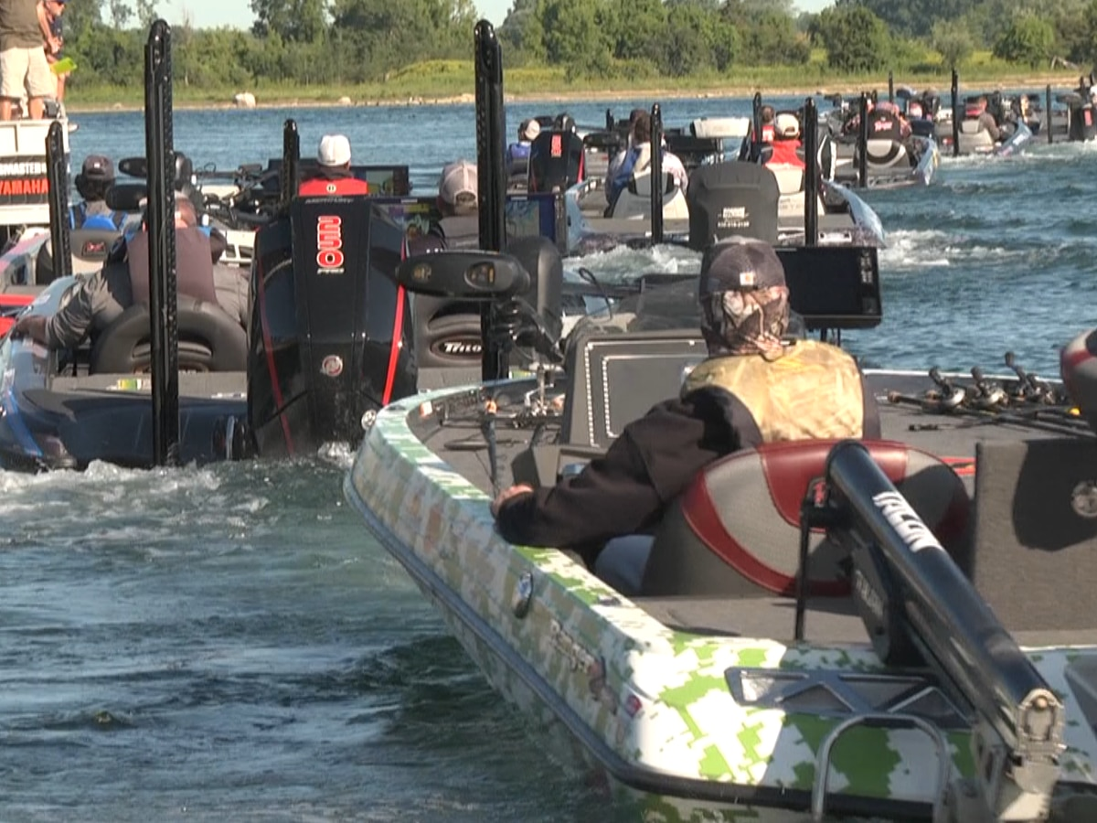 Waddington's Bassmaster Elite tournament still on