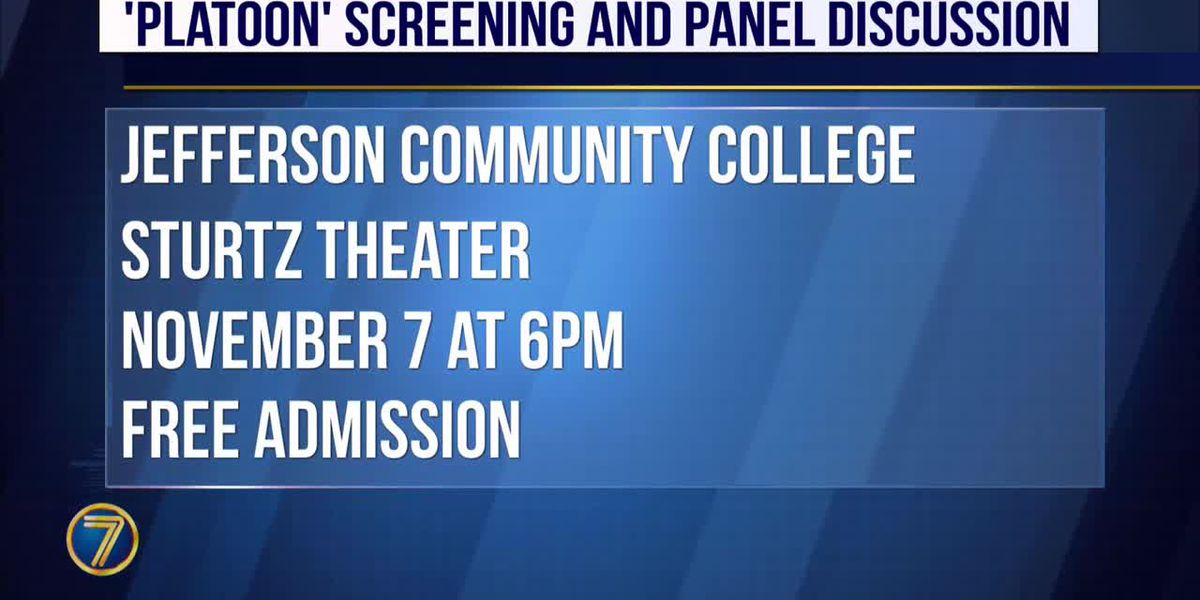 JCC to screen 'Platoon', hold panel discussion