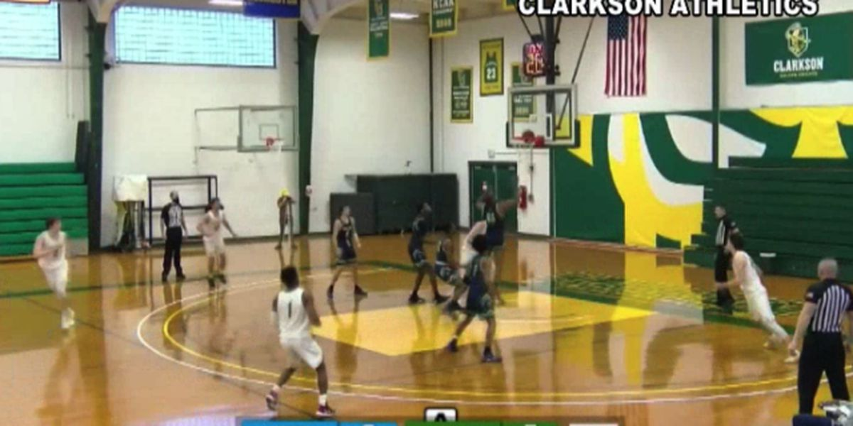 Clarkson comes out on top in basketball home opener