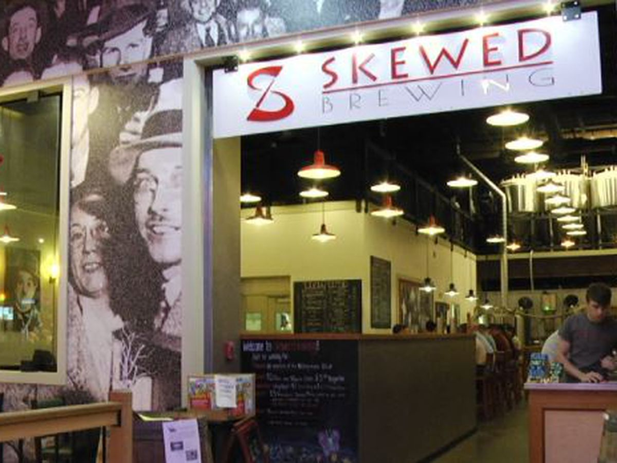 Skewed Brewing 'not able to open' at mall