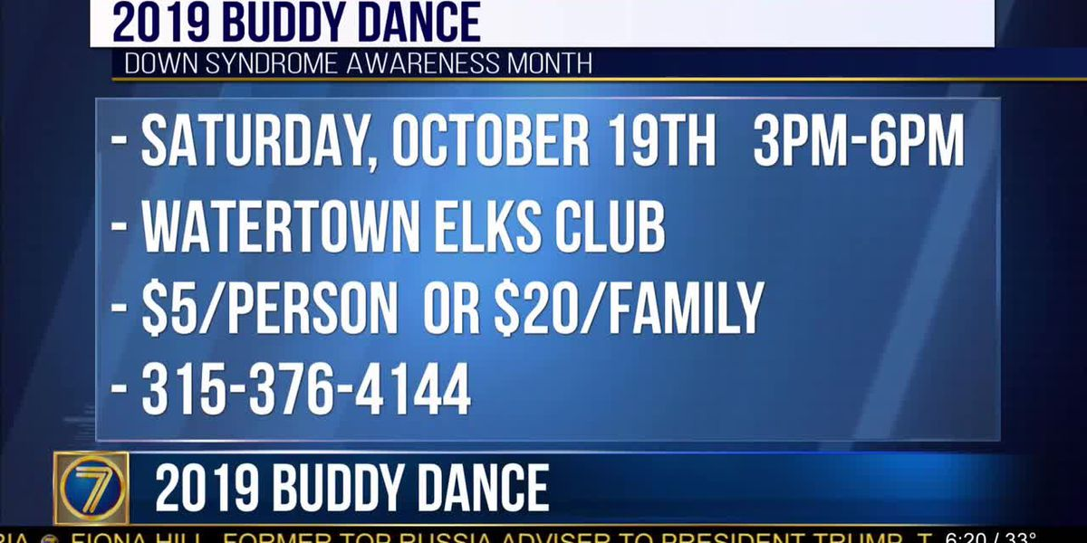 Help raise Down Syndrome awareness at Buddy Dance