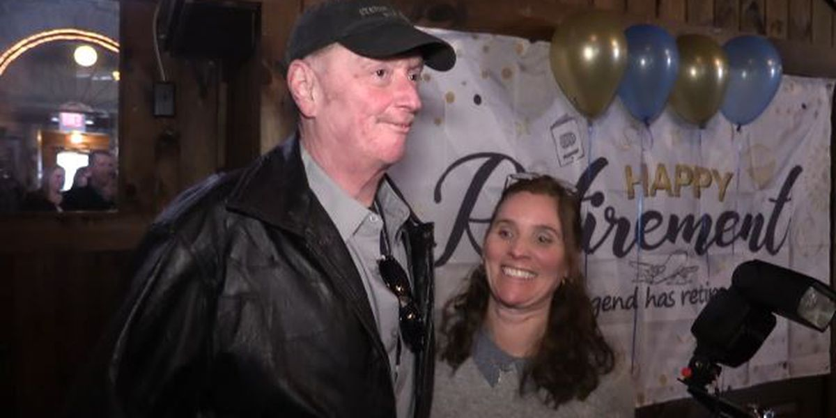 Corrections officer gets surprise retirement party