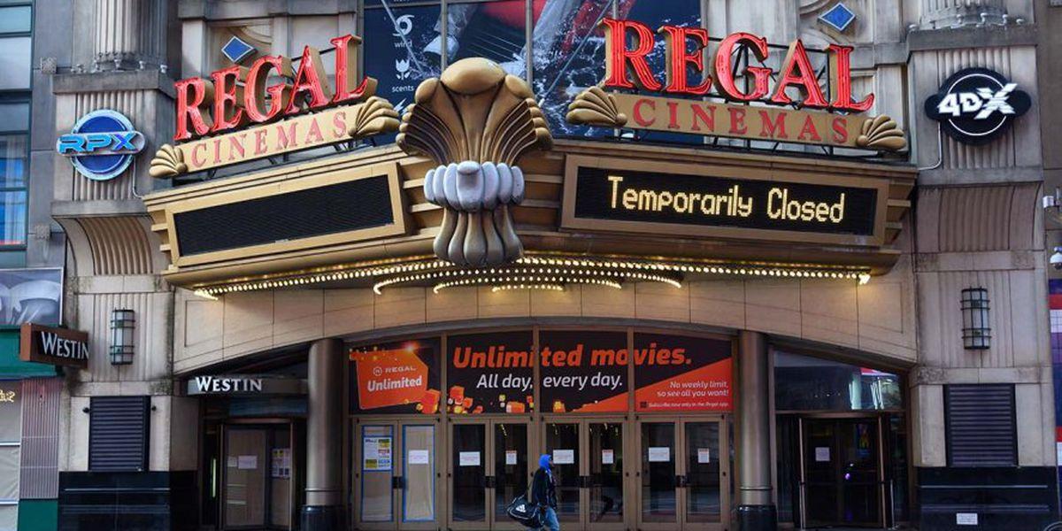 Regal Cinemas Now Opening July 31
