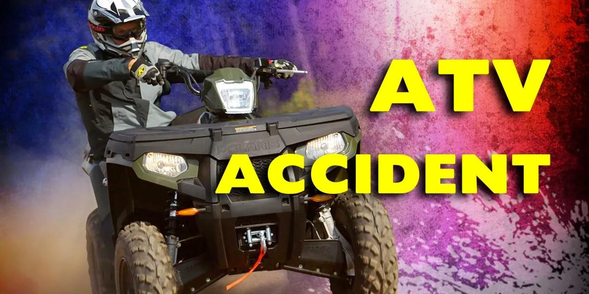 Massena man in serious condition following ATV crash