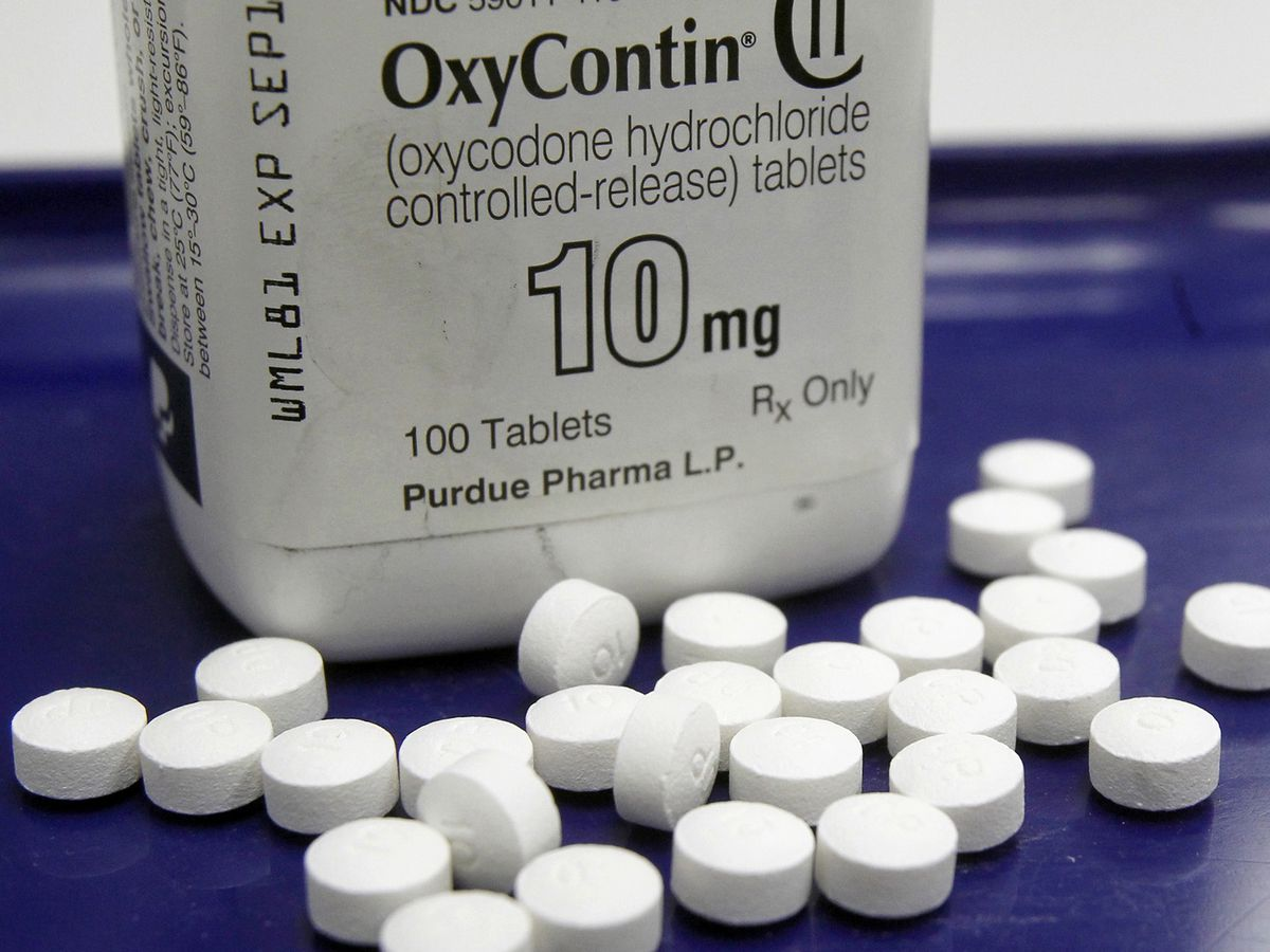 Maker of OxyContin files for bankruptcy as part of opioids settlement