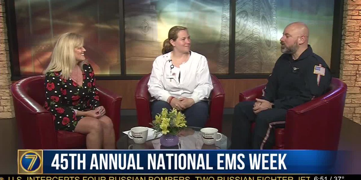 Morning Checkup: National EMS Week