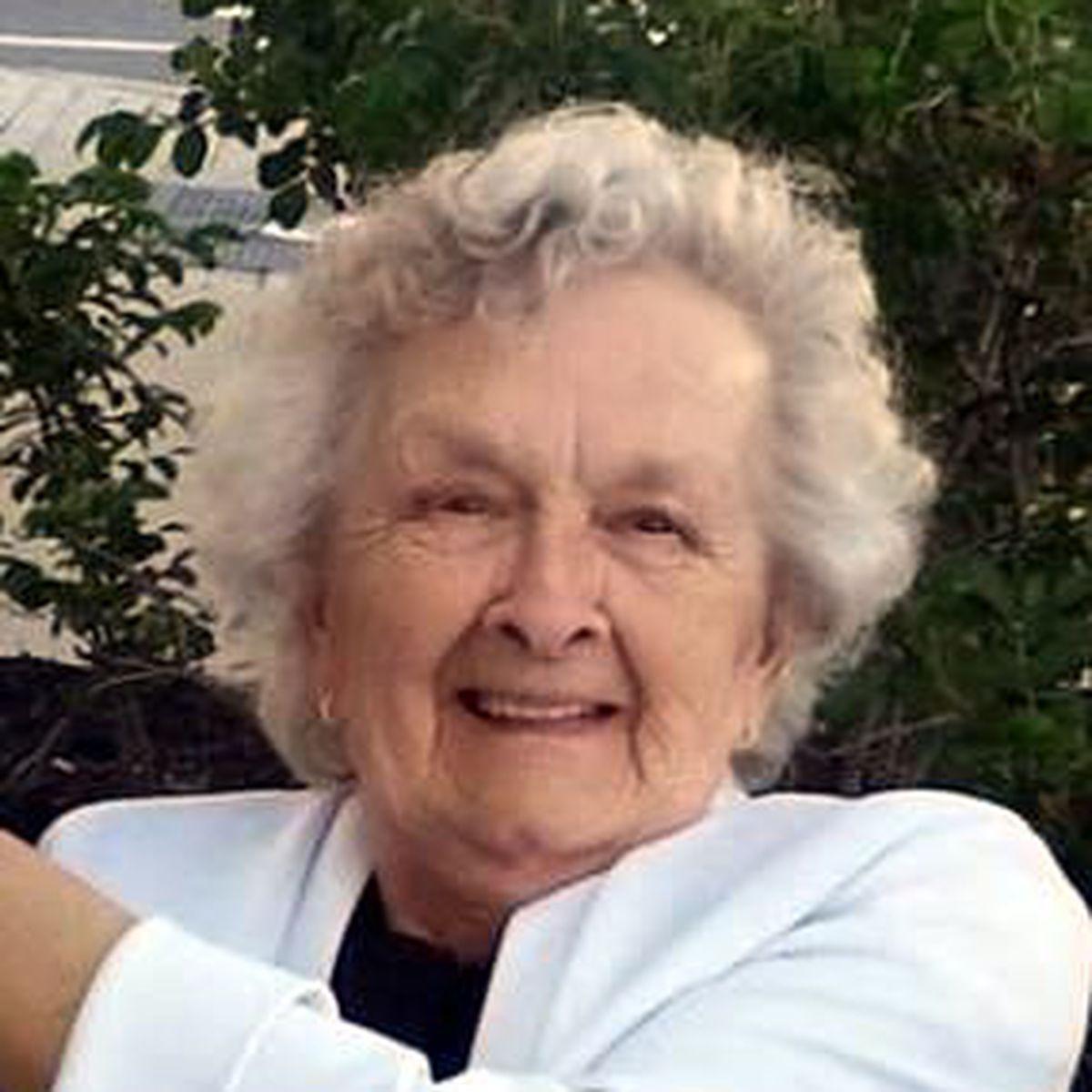 Mrs. Lois Jane McCasland, 90, of Potsdam