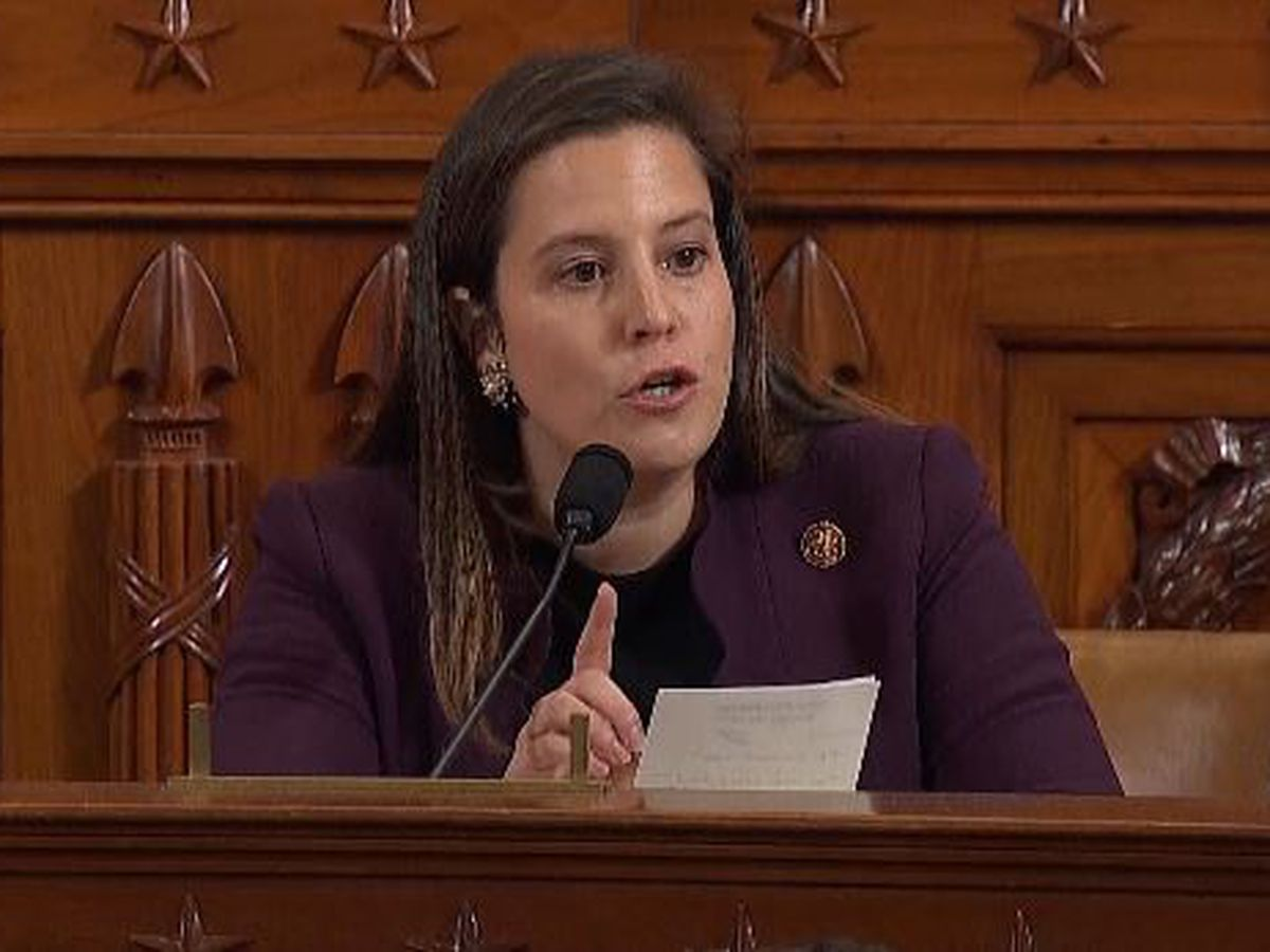 Stefanik delivers fiery statement during impeachment hearings