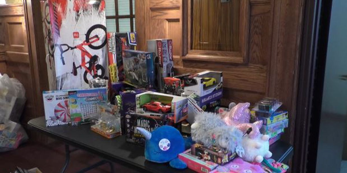 Toy drive organizers 'thrilled' with donations