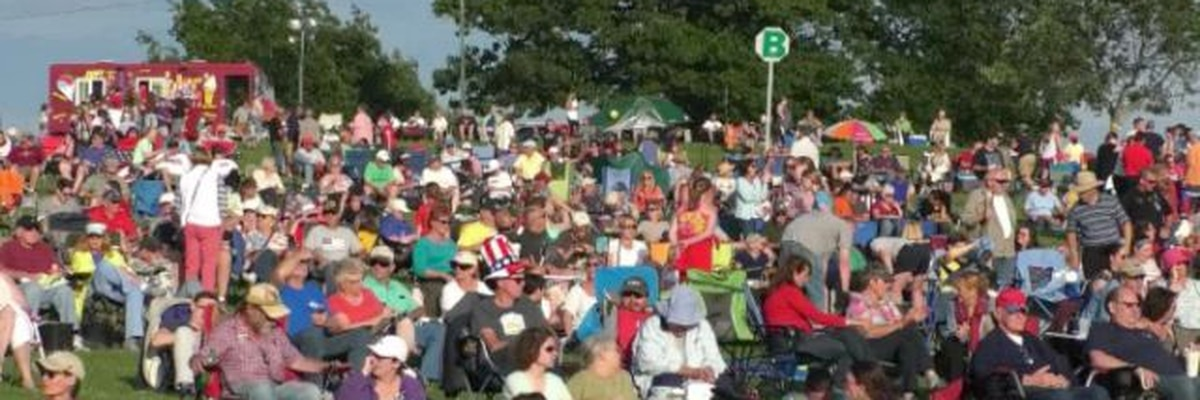 WWNY Watertown's concert in the park and COVID restrictions