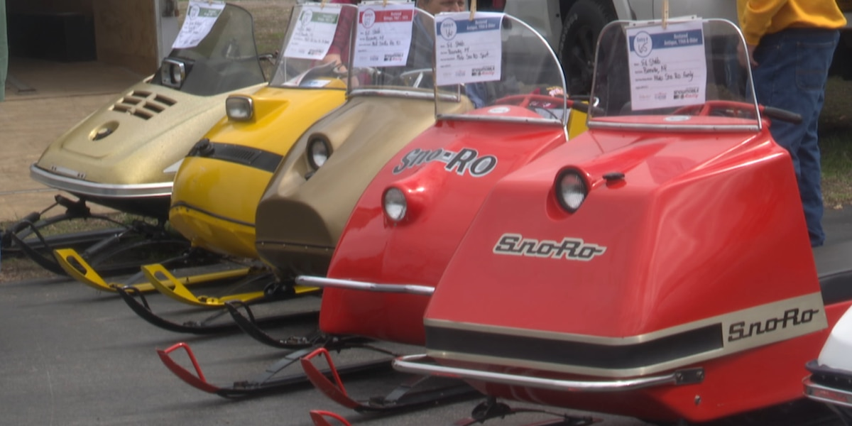Snowmobile show in Clayton has people flocking from hours away