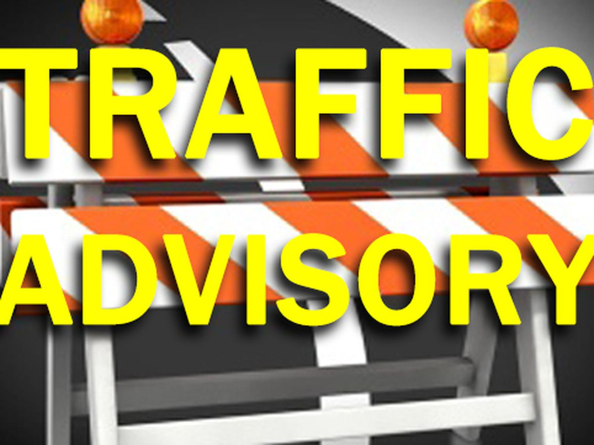 Traffic advisory: outer Bradley Street in Watertown
