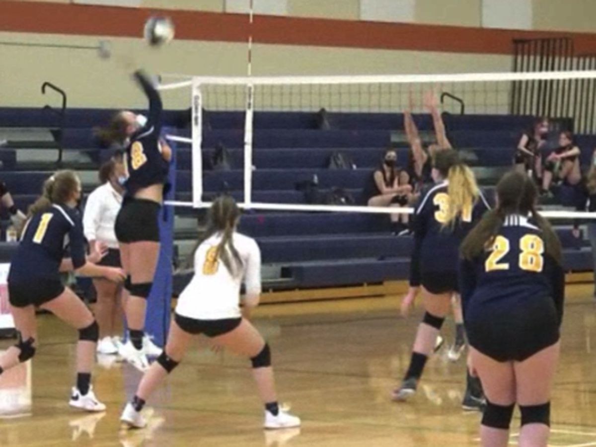 Highlights & scores: high school girls' soccer & volleyball