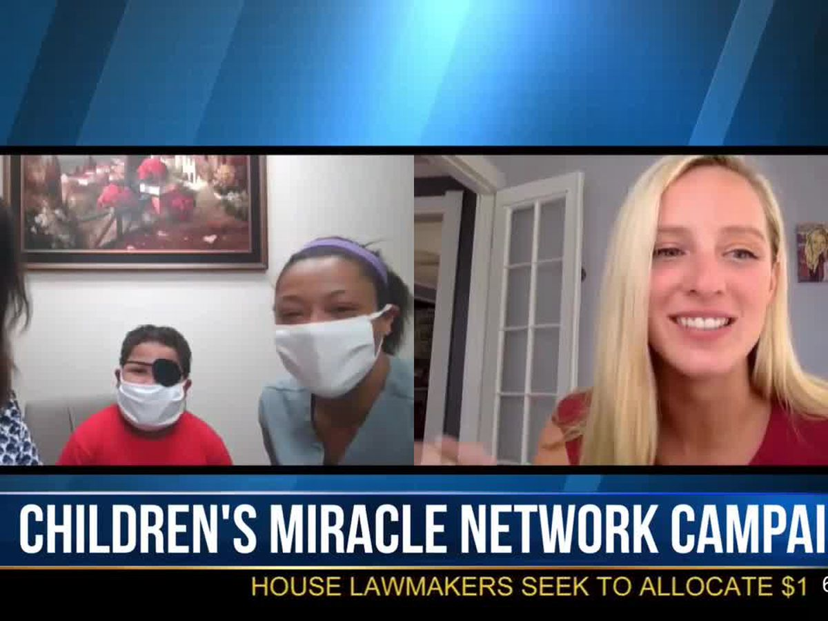 Morning Checkup: Children's Miracle Network campaign