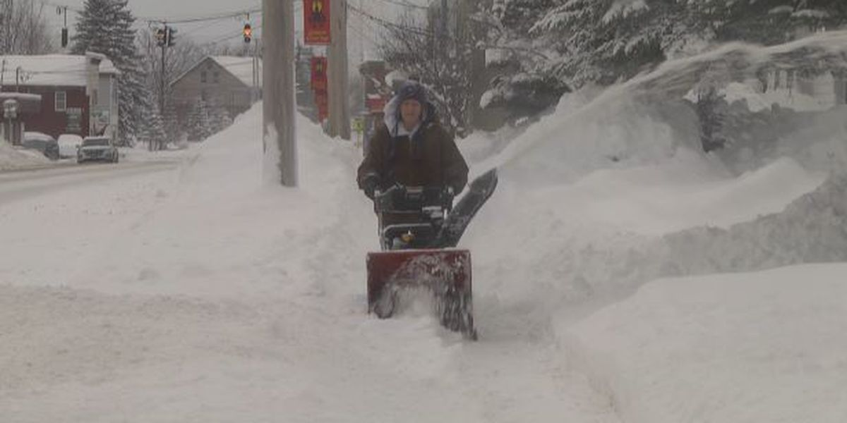 Lewis County keeps up with snow