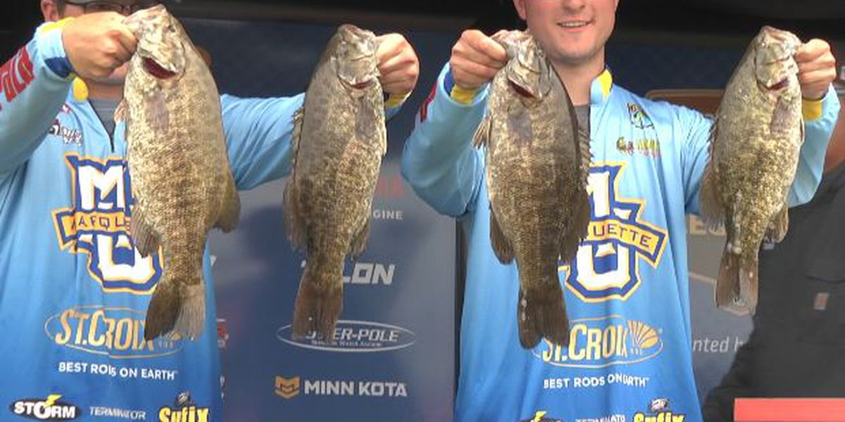 Collegiate bass fishing enthusiasts get hooked on St. Lawrence River