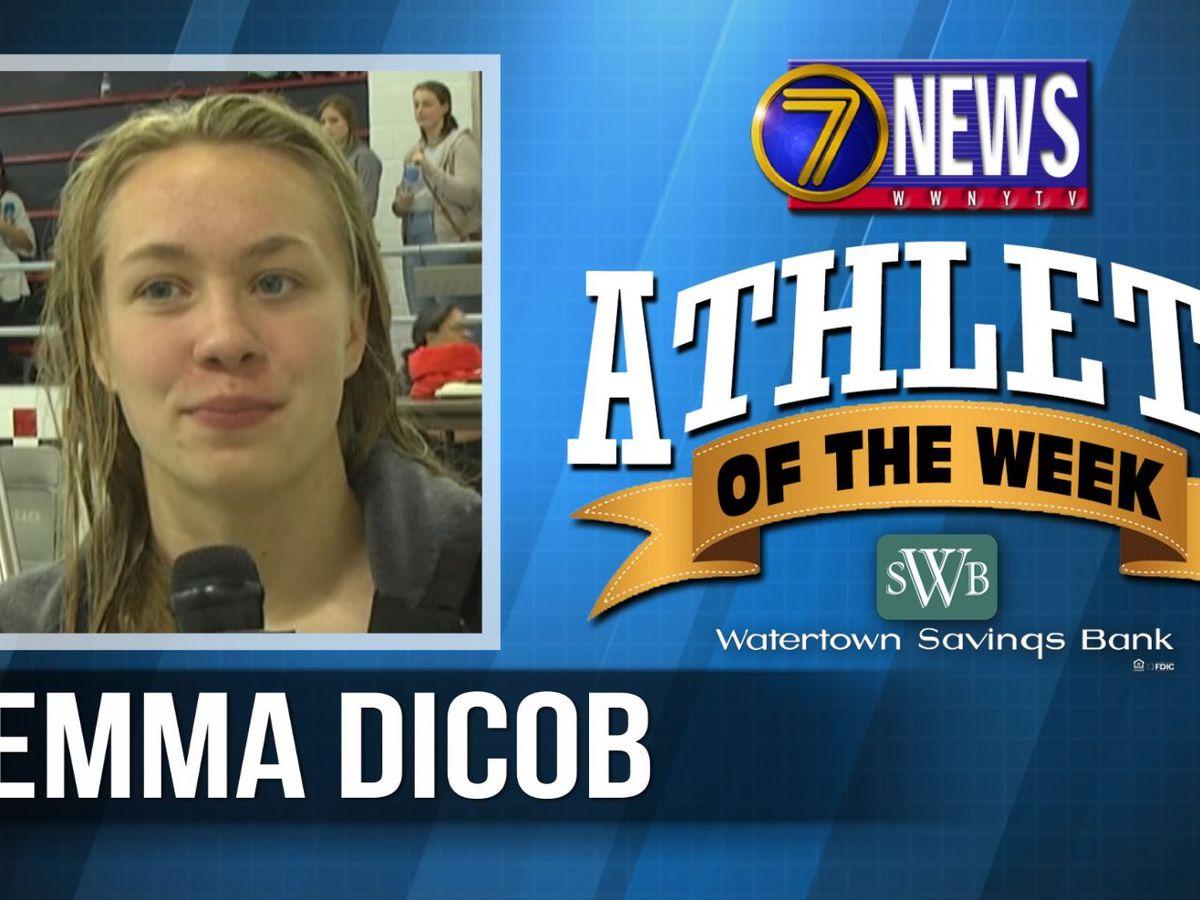 Athlete of the Week: Emma Dicob