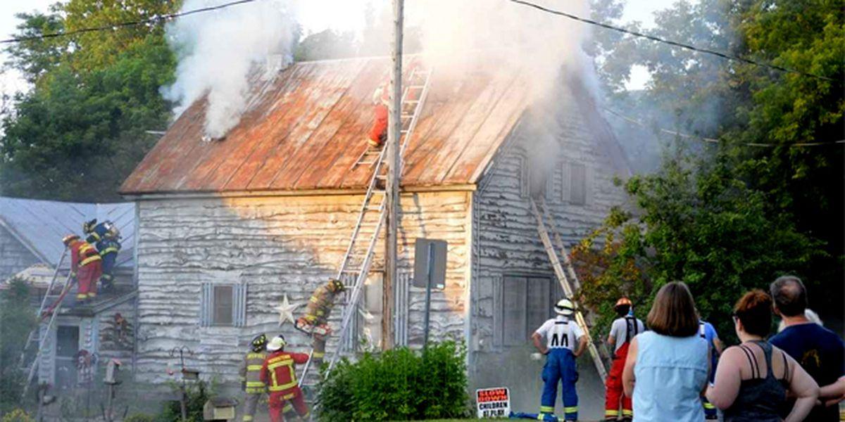 Fire destroys Chippewa Bay home