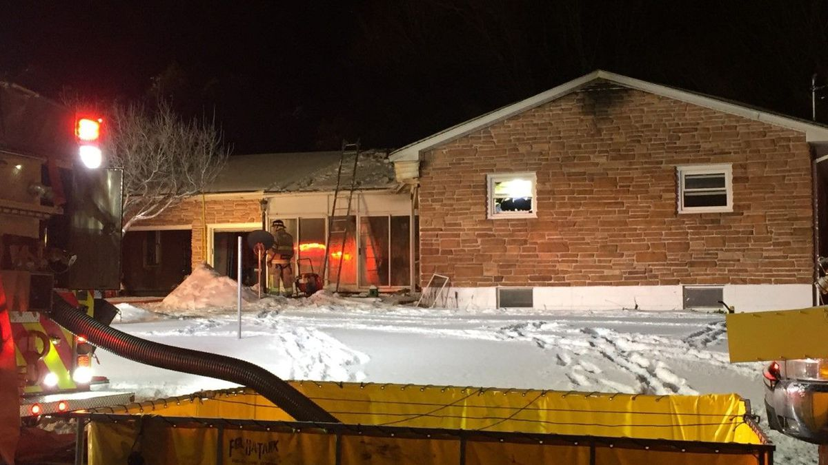 Causes determined in fire and chief's death