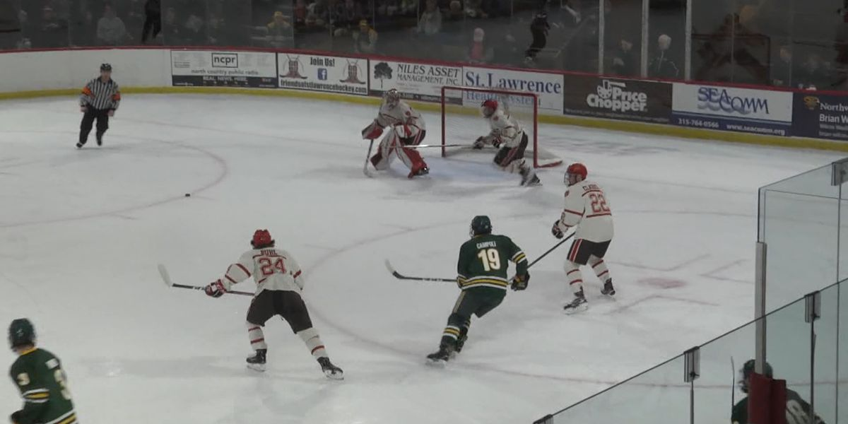 Saturday Sports: St. Lawrence, Clarkson rivalry continues at refurbished Appleton Arena