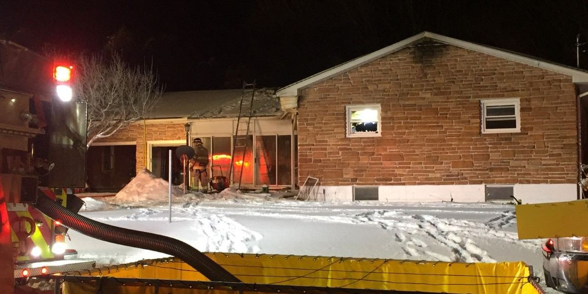 Fire chief dies after collapsing during house fire