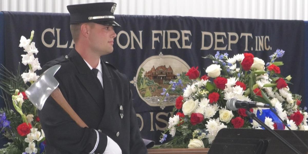 Clayton hero Charlie Solar laid to rest