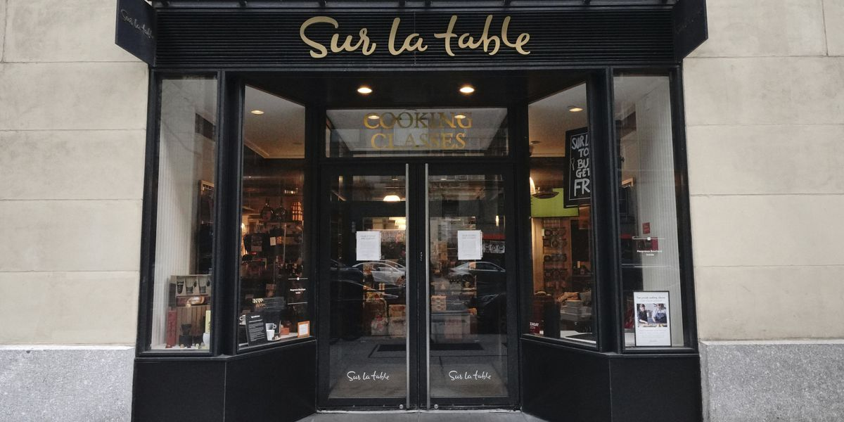 Sur La Table closing 56 stores, seeking bankruptcy protection
