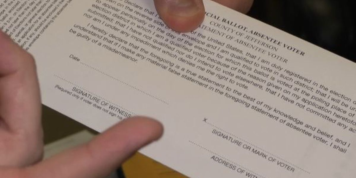 It all comes down to money as some call for pre-paid postage for absentee ballots