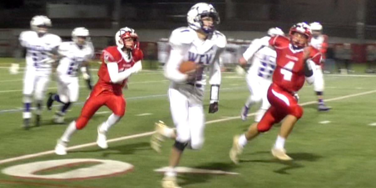 Falcons' wings clipped in football semifinal