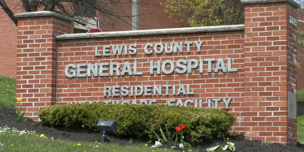 Saturday: four test positive at Lewis County hospital's nursing home, but are they sick?