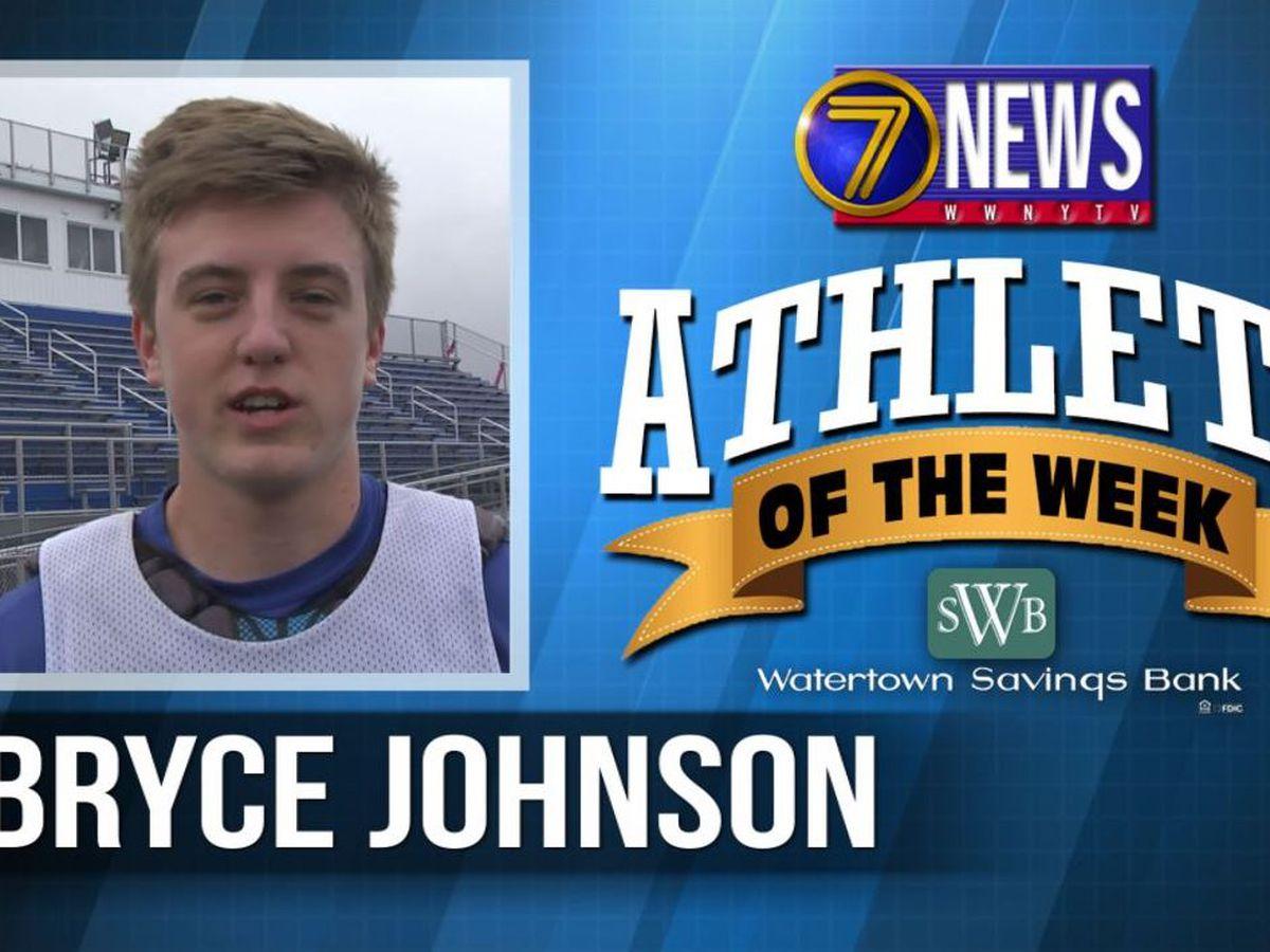 Athlete Of The Week: Bryce Johnson